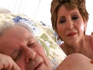 Mature: 55 year old fucks son's friend