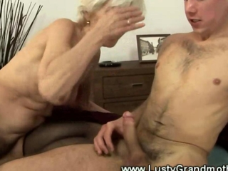 Mature granny with hairy pussy fucked and cant get enough