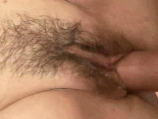 Mature hairy granny rides dick and loves it