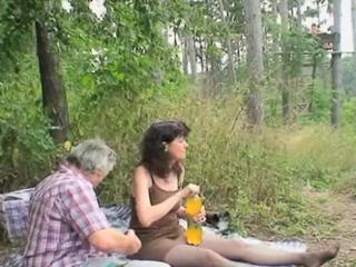 Outdoor Mature Couple Sex