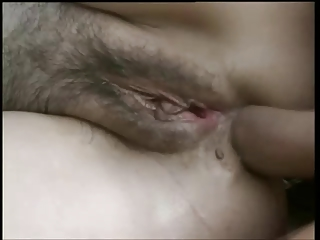 Blond hairy granny outdoor anal