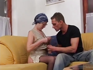 Granny Gets A Good Hard Dicking !
