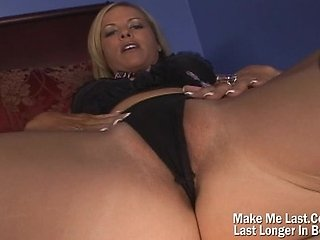 Hot Blonde MILF Fucked On Her Tight