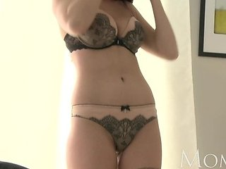MOM - Lingerie loving MILF shows how sexy