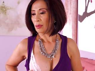 61y Asian Granny Fucked In The Ass