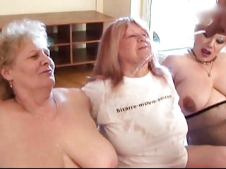 3 Old Fat Grannies Gangbang