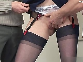 Hot wife riding cock