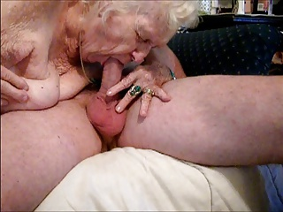 Granny Awesome blowjob! NEW OLD Suck me