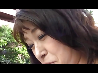 50yr old Granny Akagi Oda Loves Cock (Uncensored)