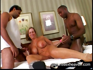Granny's Interracial Cum Part 1